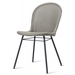 Vincent Sheppard Yann Lloyd Loom Dining Chair Black| A Frame