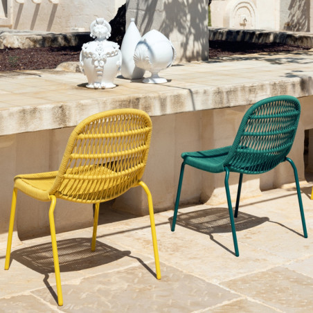 Talenti Panama Outdoor Dining Chair