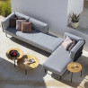 Todus Baza Modular Left Long Corner backrest | Seat 240 cm