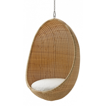 Sika Hanging Egg Chair in Natural