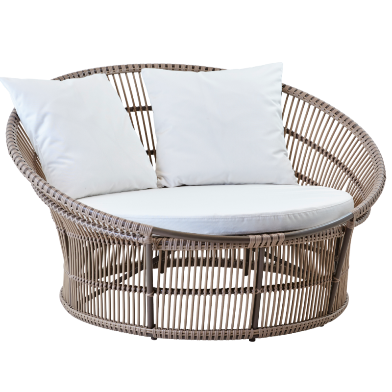 Sika Design Olympia Outdoor Nest Lounger Moccachino