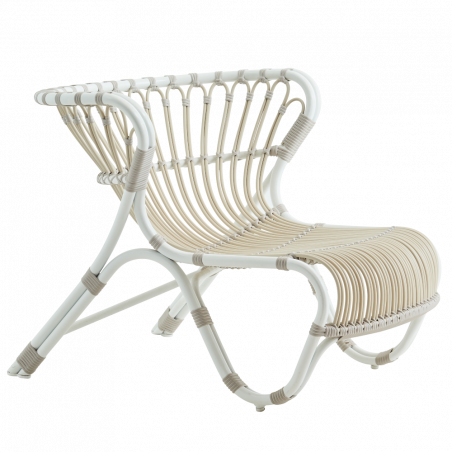 Sika Design Fox Lounge Chair Dove White