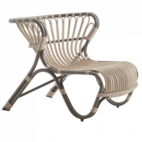 Sika Design Fox Lounge Chair Moccachino