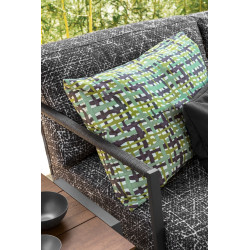 Talenti Cottage Sunbed Graphite Black Abstract