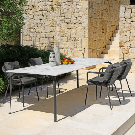 Talenti Cruise Alu Outdoor Dining Table 250 cm x 100 cm