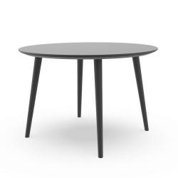 Talenti Sofy Outdoor Round Dining Table Carbon Aluminium