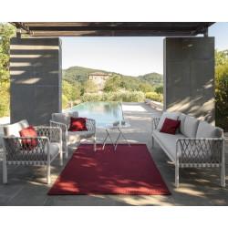 Talenti Sofy Outdoor Sofa White Soft Grey