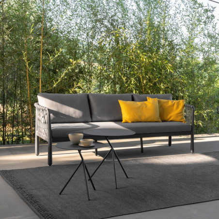 Talenti Sofy Outdoor Sofa Carbon Dark Grey