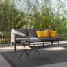 Talenti Sofy Outdoor Sofa Carbon Dark Grey
