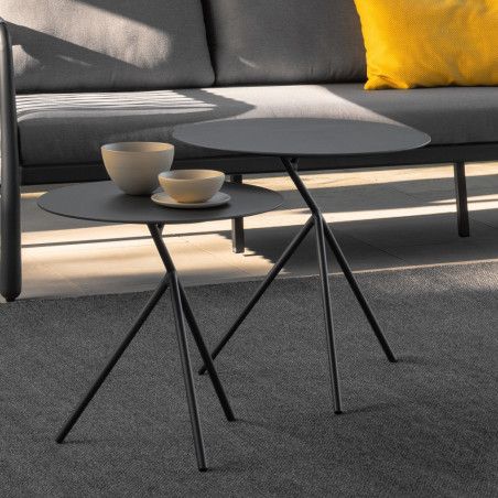Talenti Sofy Outdoor Coffee Table Dark Grey