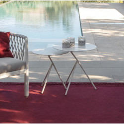 Talenti Sofy Outdoor Coffee Table White