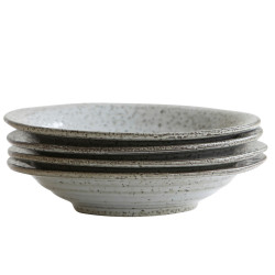House Doctor Rustic Soup Plate Blue Grey