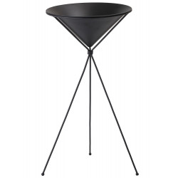Bloomingville Flower Pot in Black Metal