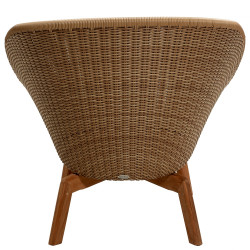 Cane-Line Peacock Outdoor Lounge Chair Weave Natural