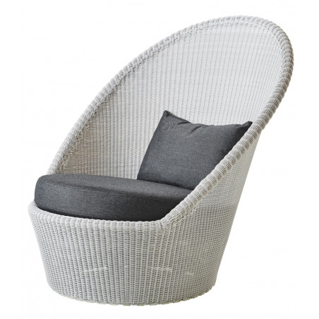 Cane-Line Kensington Sunchair With Wheels