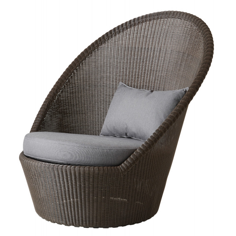 Cane-Line Kensington Sunchair With Wheels