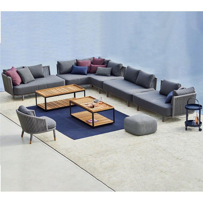 Cane-Line Moments 2 Seater Sofa Left Module