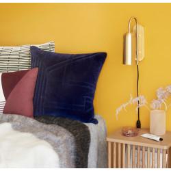 Hubsch Brass Wall Lamp Oblong Shape