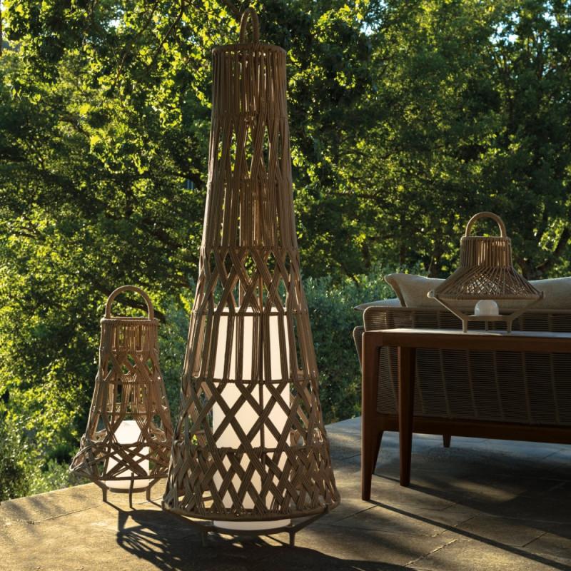 Talenti Tribal Large Outdoor Floor Lamp