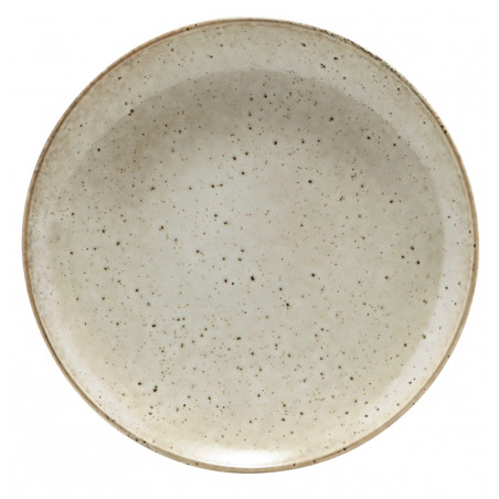 House Doctor Lake Dinner Plate Grey