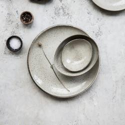 House Doctor Lake Dinner Plate Grey