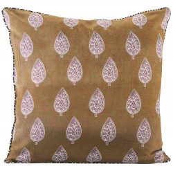 House Doctor Parsley Mustard Cushion Cover