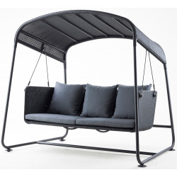 Cane-Line Cave Swing Sofa