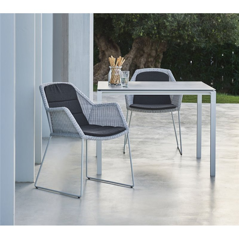 Cane-Line Breeze Outdoor Chair in Black