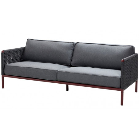 Cane-Line Encore 3 - Seater Sofa in Soft Rope| 2 Colours