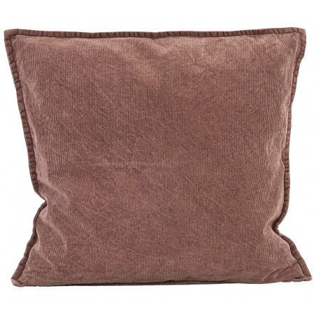 House Doctor Cur Cushion Cover Red/ Brown