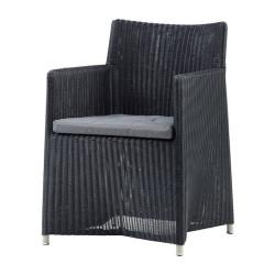 Cane-Line Diamond chair in Weave Graphite