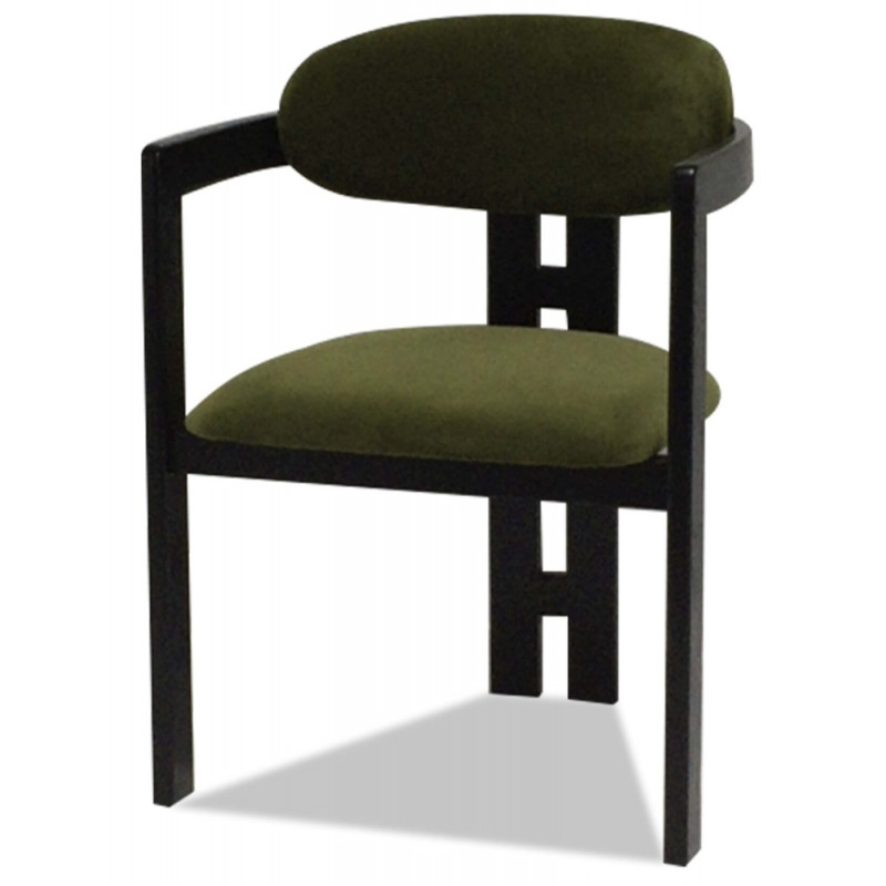 Liang & Eimil Neo Dining Chair Kaster Olive
