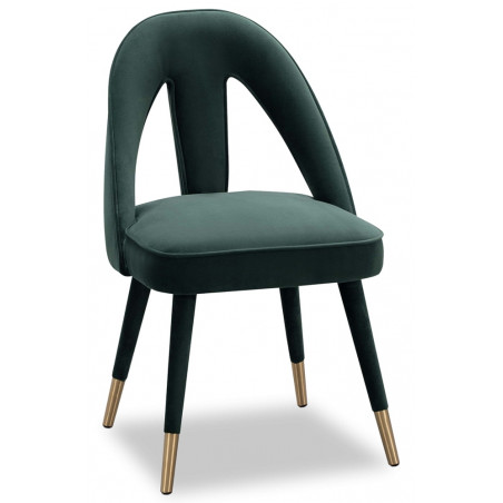 Liang & Eimil Pigalle Dining Chair in Kaster Green Velvet