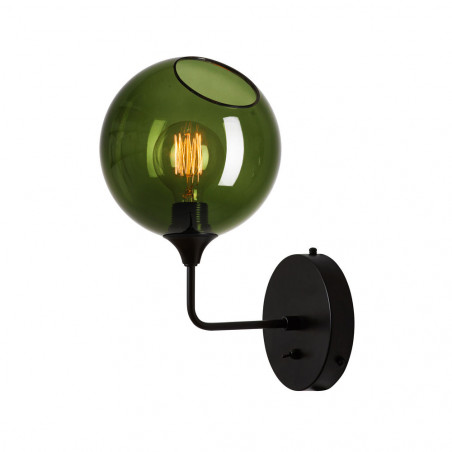 Design By Us Ballroom Army Green Wall Light Small