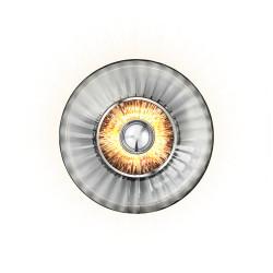 Design By Us Wave Optic Wall Lamp Smoke