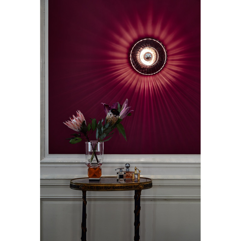 Design By Us Wave Optic Wall Lamp Rose