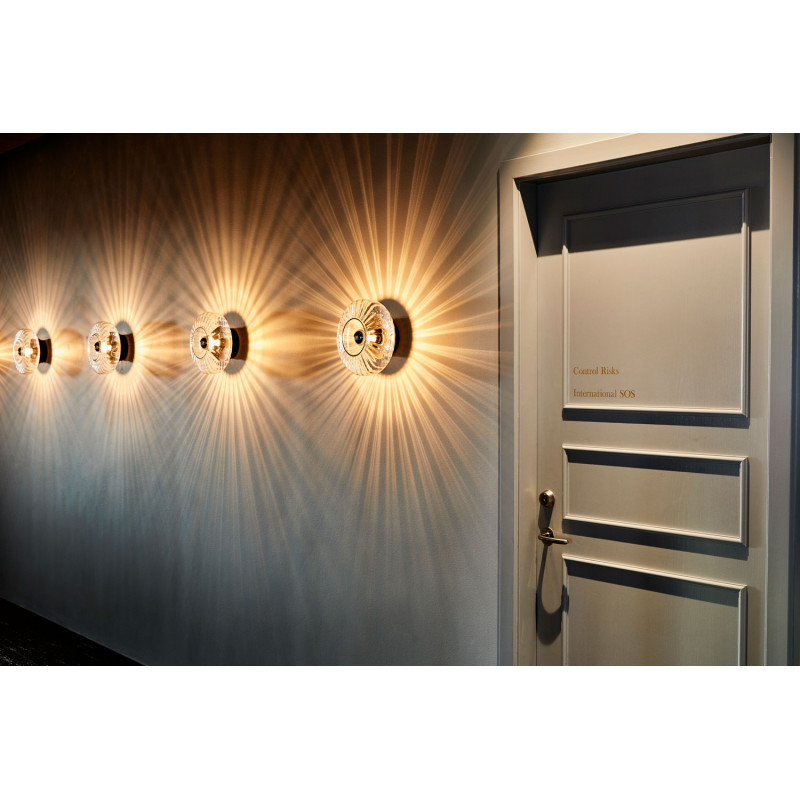 Design By Us Wave Optic Wall Lamp Clear