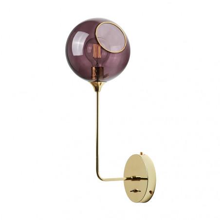 Design By Us Ballroom Purple Wall Light Big