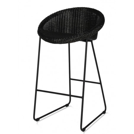 Vincent Sheppard  Joe Counter Stool Black Sled Base