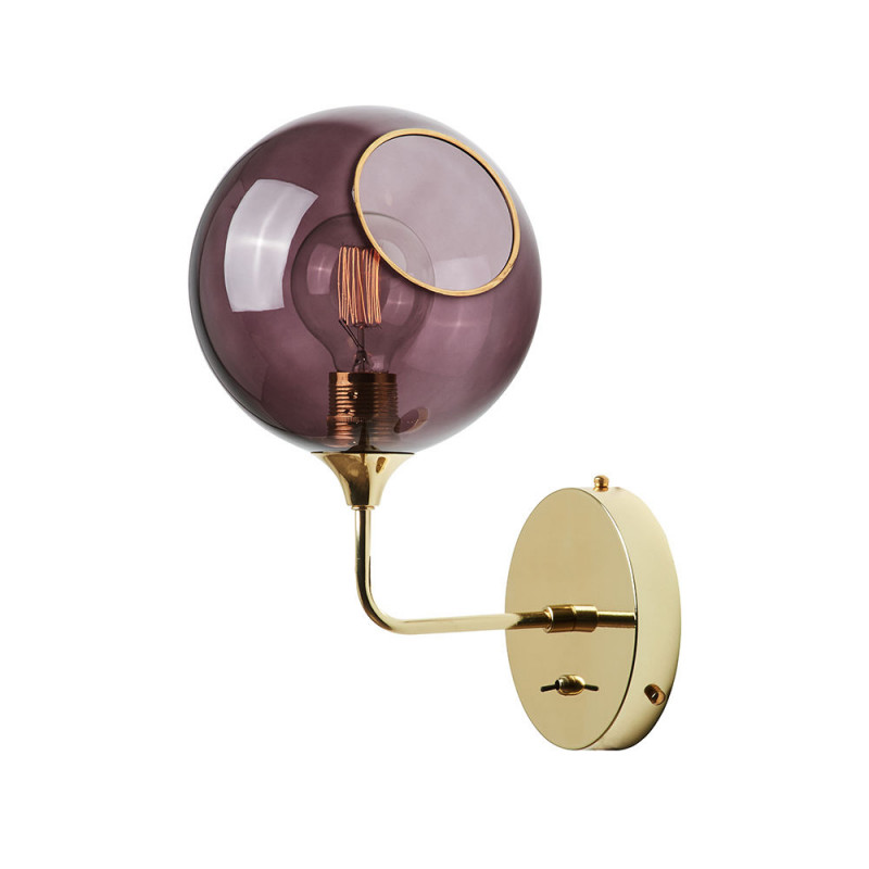 Design By Us Ballroom Wall Light Purple Small