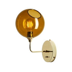 Design By Us Ballroom Wall Light Amber Small