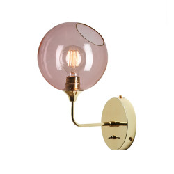 Design By Us Ballroom Wall Light Rose Small