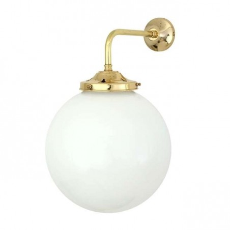 Mullan Lighting Bamako Globe Wall Light 25 cm
