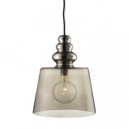 Design By Us Pollish XL Pendant Lamp Smoke