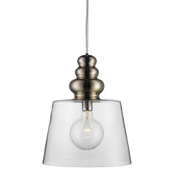 Design By Us Pollish XL Pendant Lamp Clear