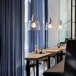 Design By Us Pollish XL Pendant Lamp Clear