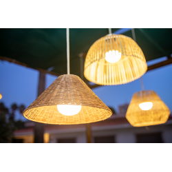 Calobra Outdoor Rechargeable Pendant Lamp
