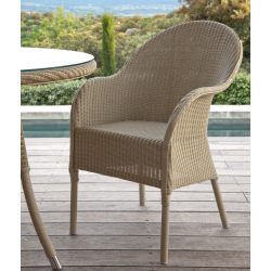 Vincent Sheppard Nice Lloyd Loom Outdoor Dining Chair
