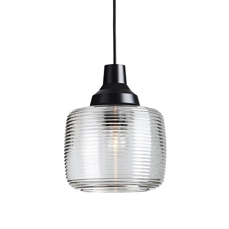 Design by Us New Wave Stripe Pendant Lamp Clear