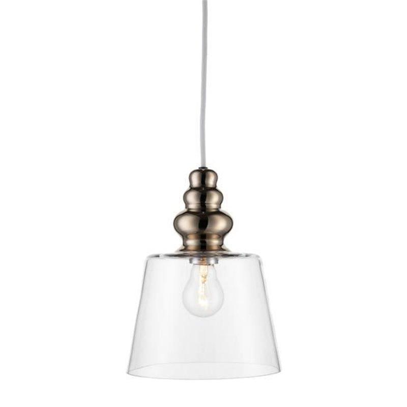 Design by Us Pollish Transparent Pendant Light Medium